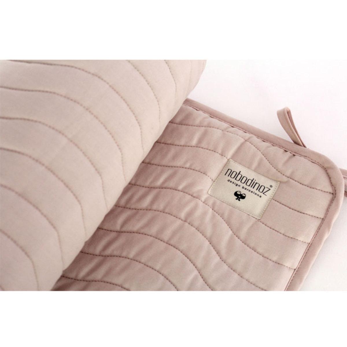 nobodinoz tour de lit alexandria pure line rose p tale linge de lit nobodinoz sur l 39 armoire. Black Bedroom Furniture Sets. Home Design Ideas