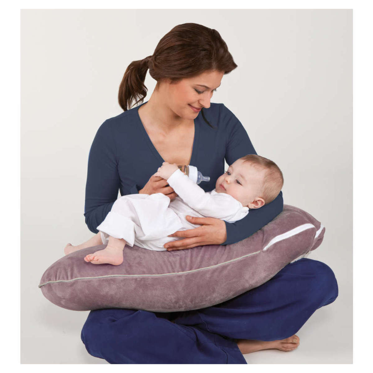 candide coussin d 39 allaitement multirelax etoiles multicolores coussin allaitement. Black Bedroom Furniture Sets. Home Design Ideas