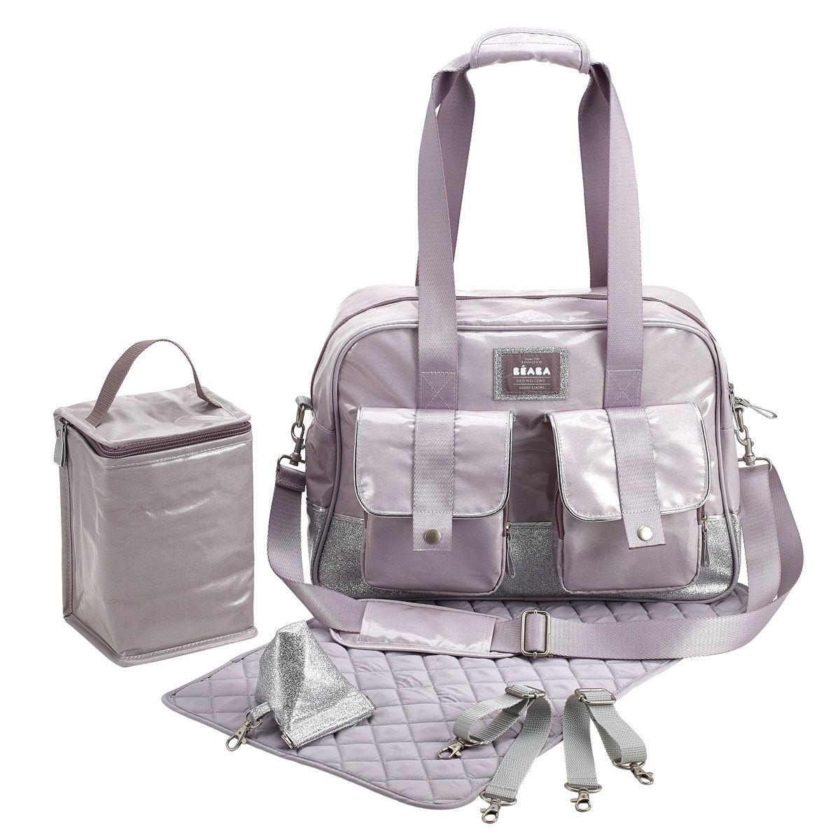b aba sac langer monaco silver sac langer b aba sur l 39 armoire de b b. Black Bedroom Furniture Sets. Home Design Ideas