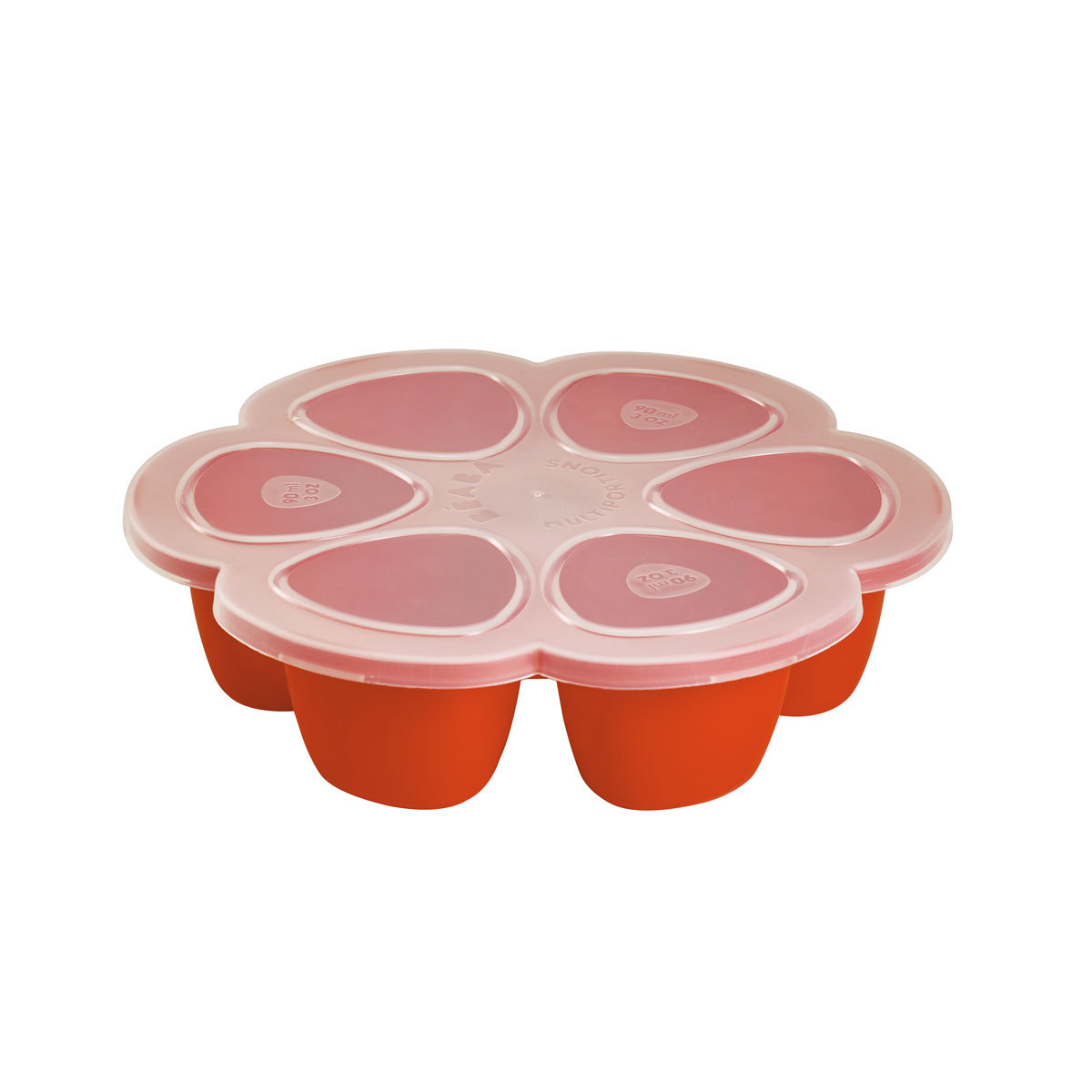 Vaisselle & Couvert Multi Portions Silicone 6 x 150 ml - Paprika Multi Portions Silicone 6 x 150 ml - Paprika