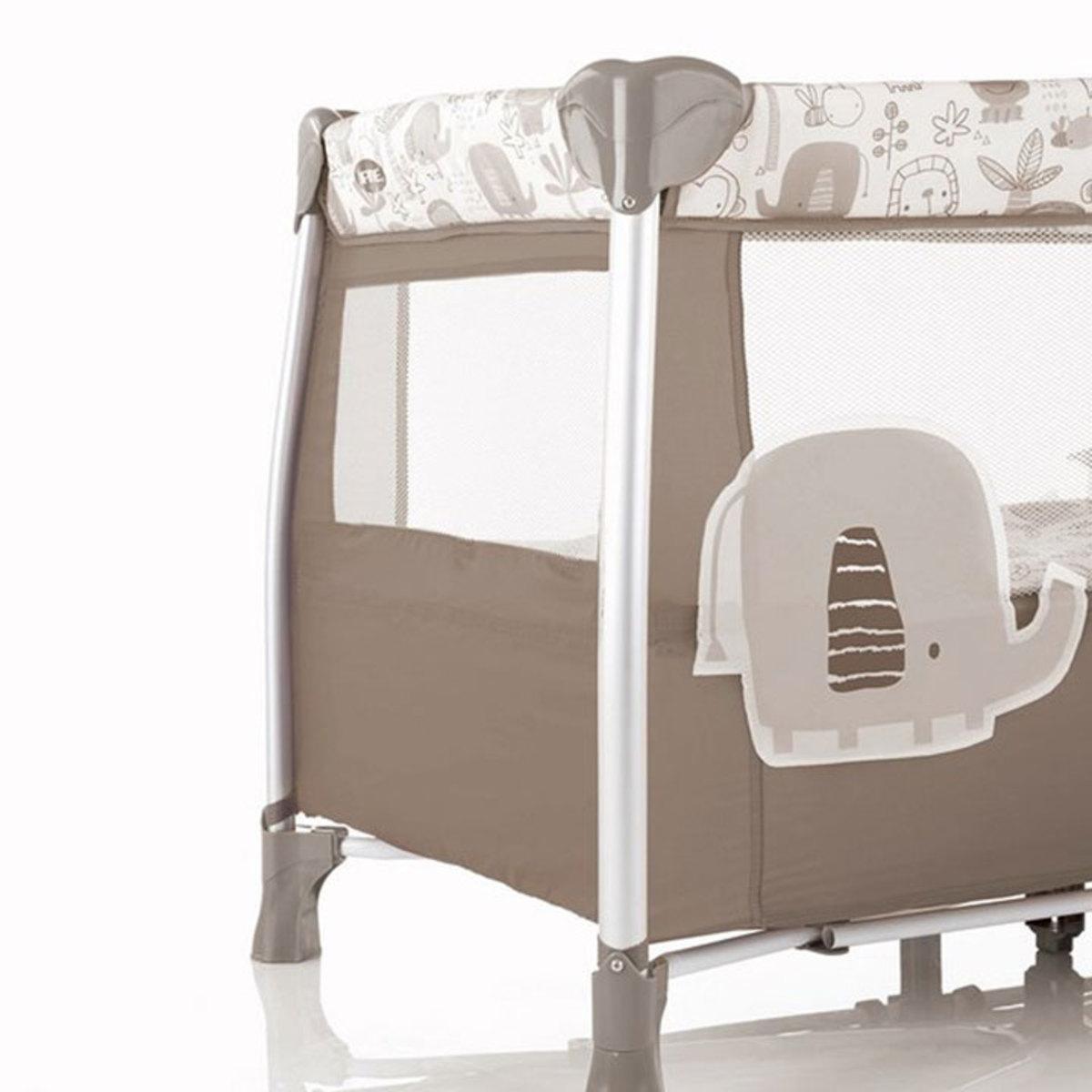 jan lit pliant bi positions duo level toys alu arche de jeux jungle lit parapluie jan. Black Bedroom Furniture Sets. Home Design Ideas