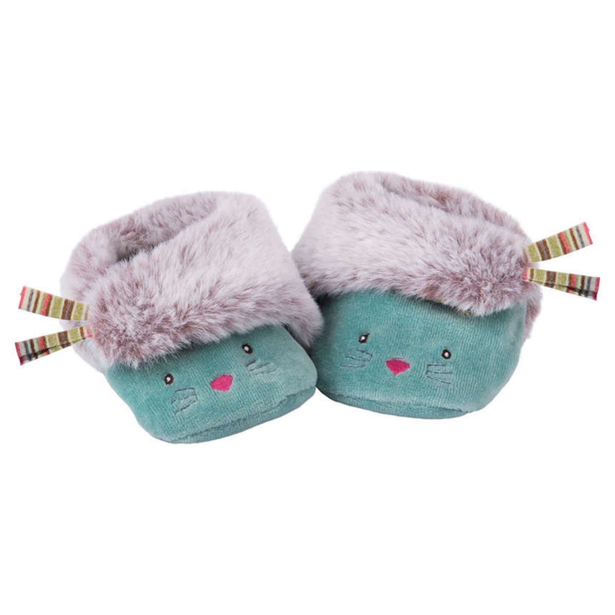 Chaussons & Chaussures Chaussons Chat Bleu Les Pachats - 16/17 Chaussons Chat Bleu Les Pachats - 16/17