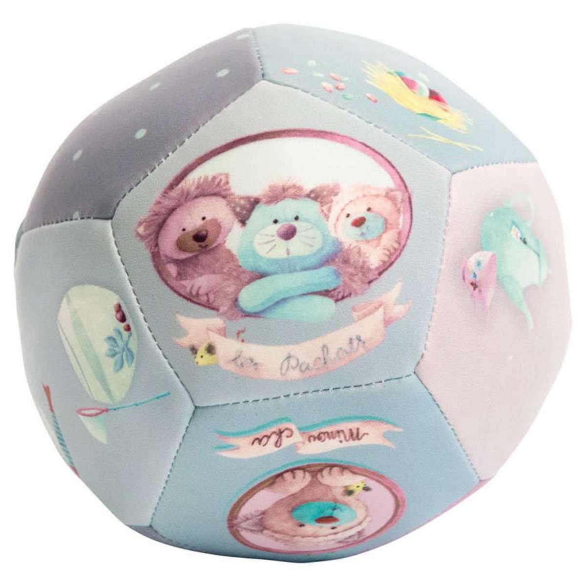 """Mes premiers jouets Ballon Souple 10 cm """"Les Pachats"""" Ballon Souple 10 cm """"Les Pachats"""""""