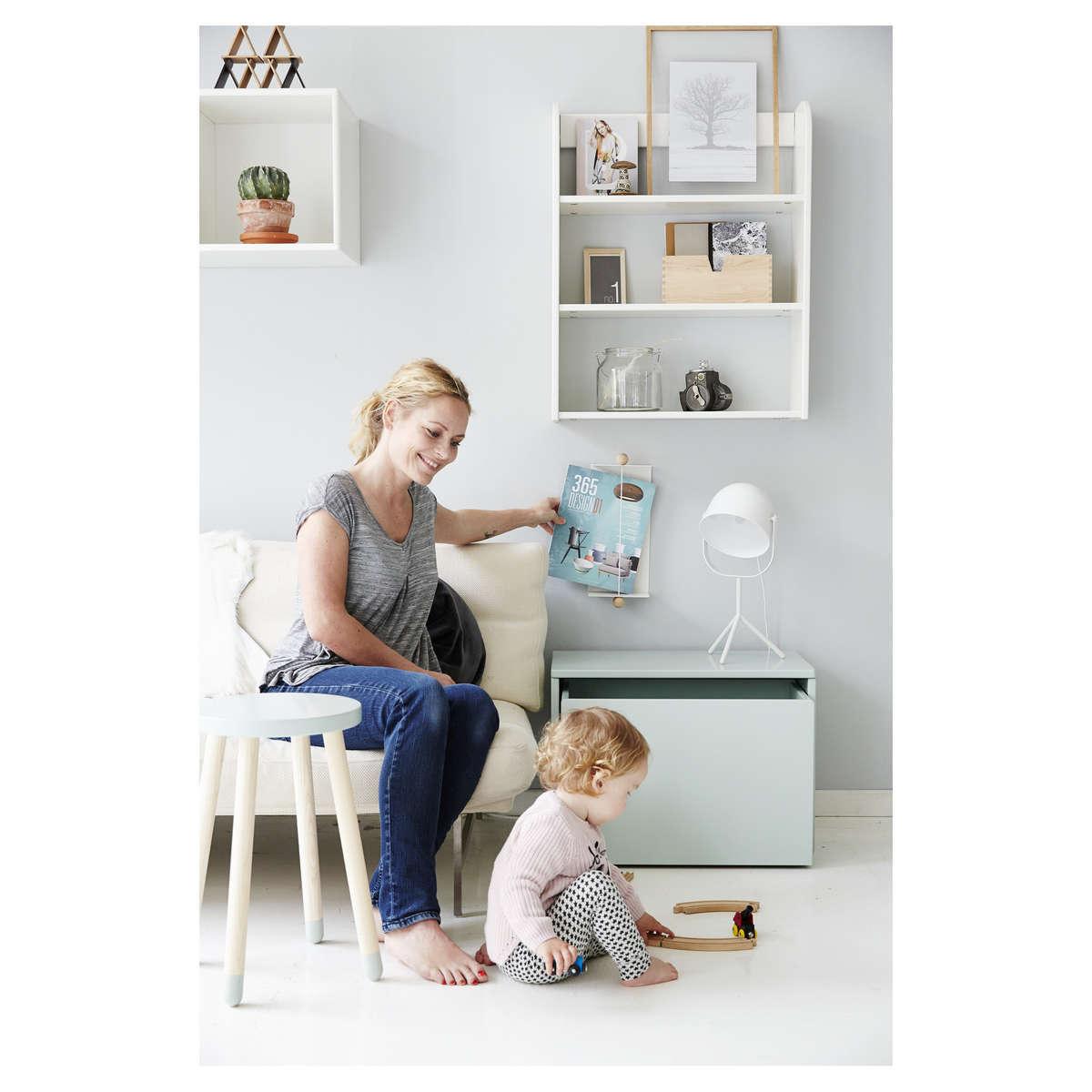 flexa etag re play blanc tag re flexa sur l 39 armoire. Black Bedroom Furniture Sets. Home Design Ideas