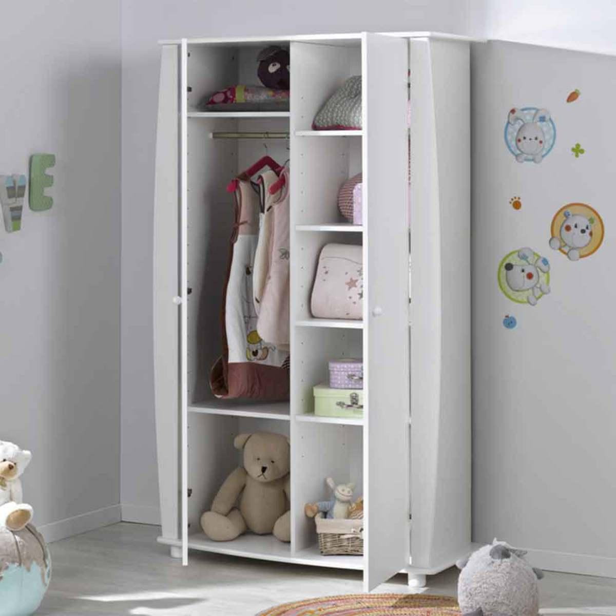 B b provence armoire m d a blanc armoire b b provence - L armoire de bebe ...