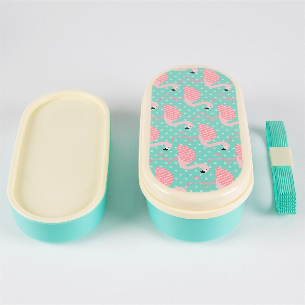 bento lunch box flamand rose maxi006 achat vente vaisselle couvert sur. Black Bedroom Furniture Sets. Home Design Ideas