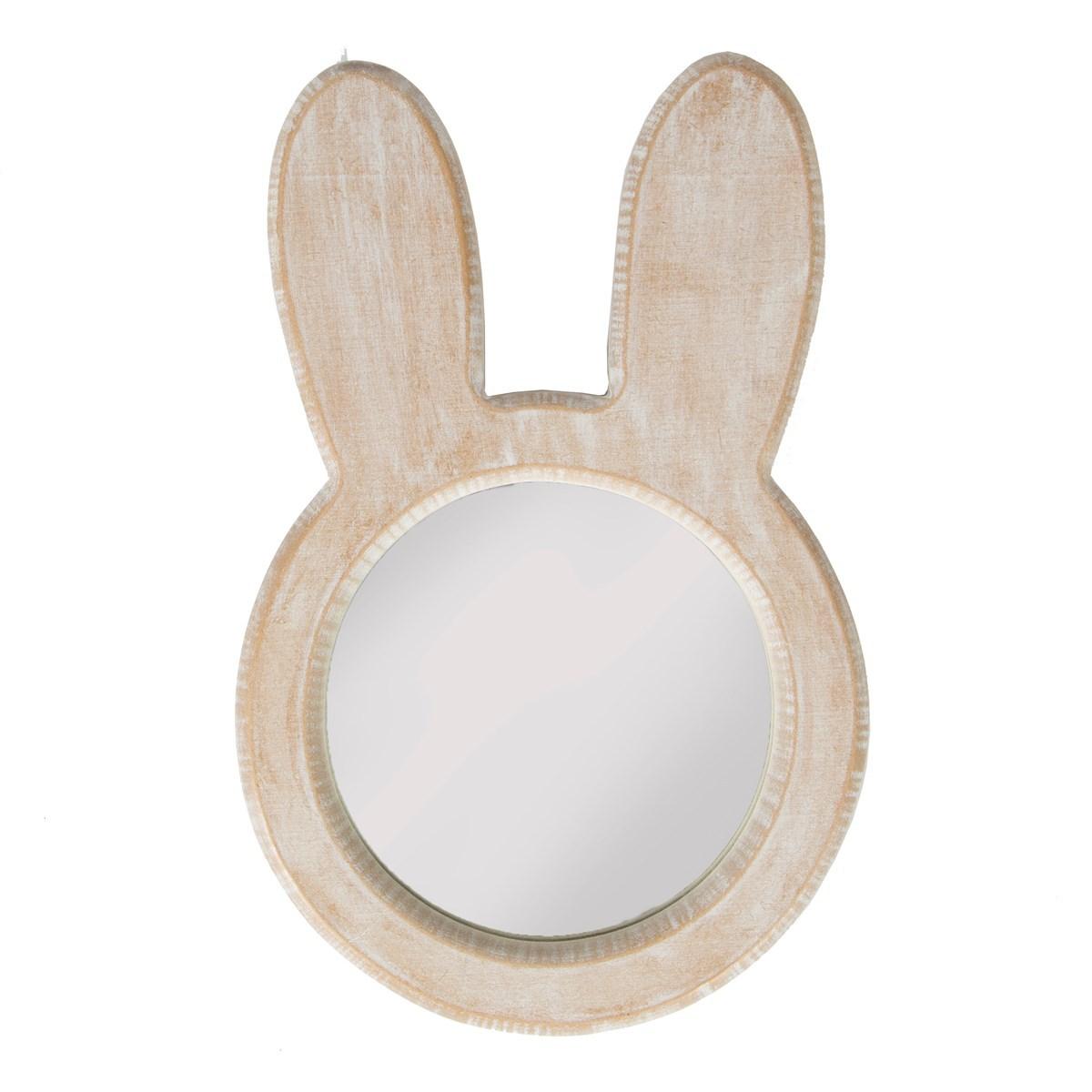 Sass belle miroir lapin bois miroir sass belle sur l for Si belle en ce miroir