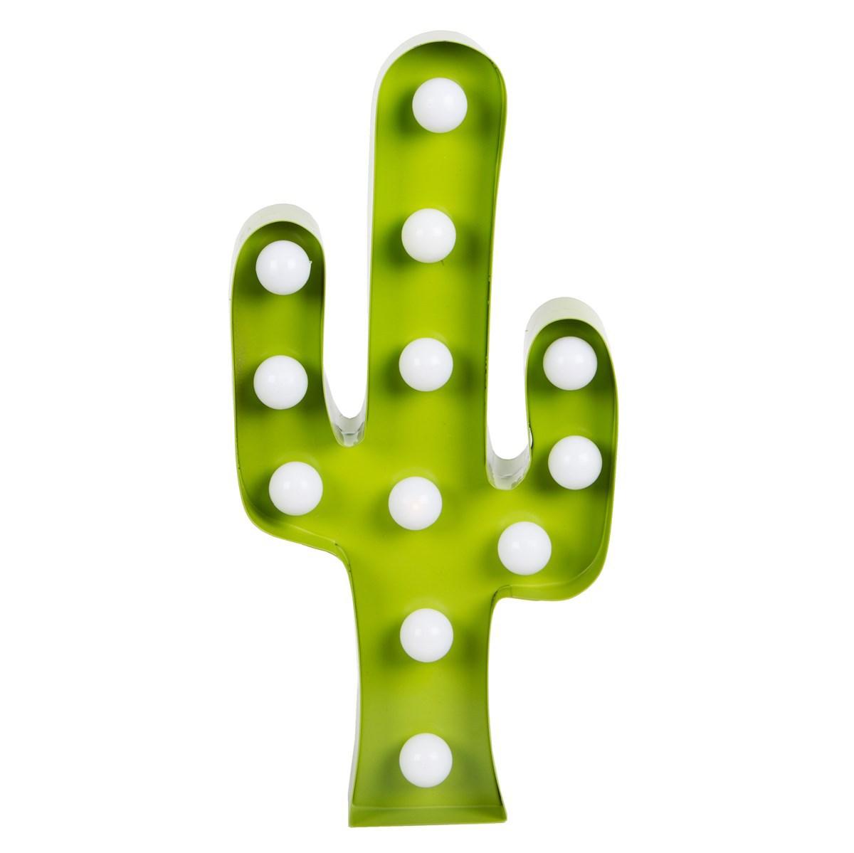 Suspension  décorative Panneau Lumineux LED Cactus Panneau Lumineux LED Cactus