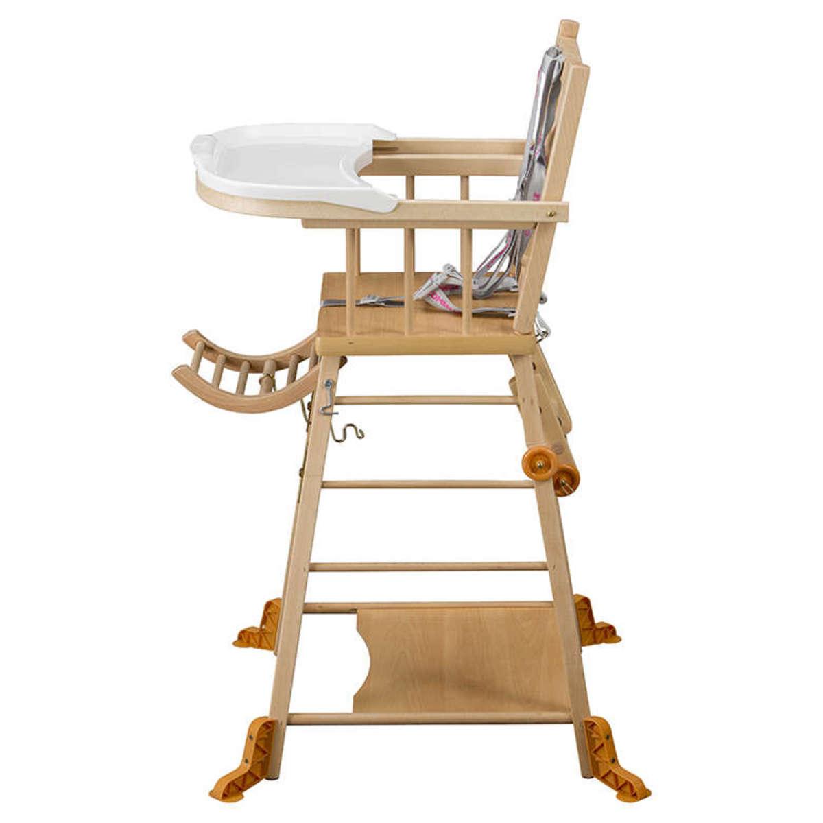chaise haute 224 barreaux transformable marcel 3c achat vente chaise haute sur