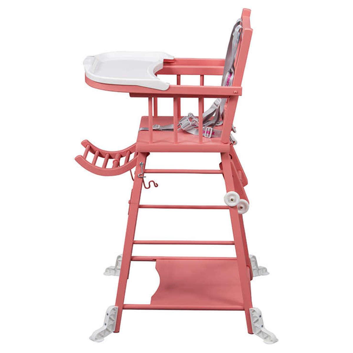 Combelle chaise haute barreaux transformable marcel for Chaise a barreaux