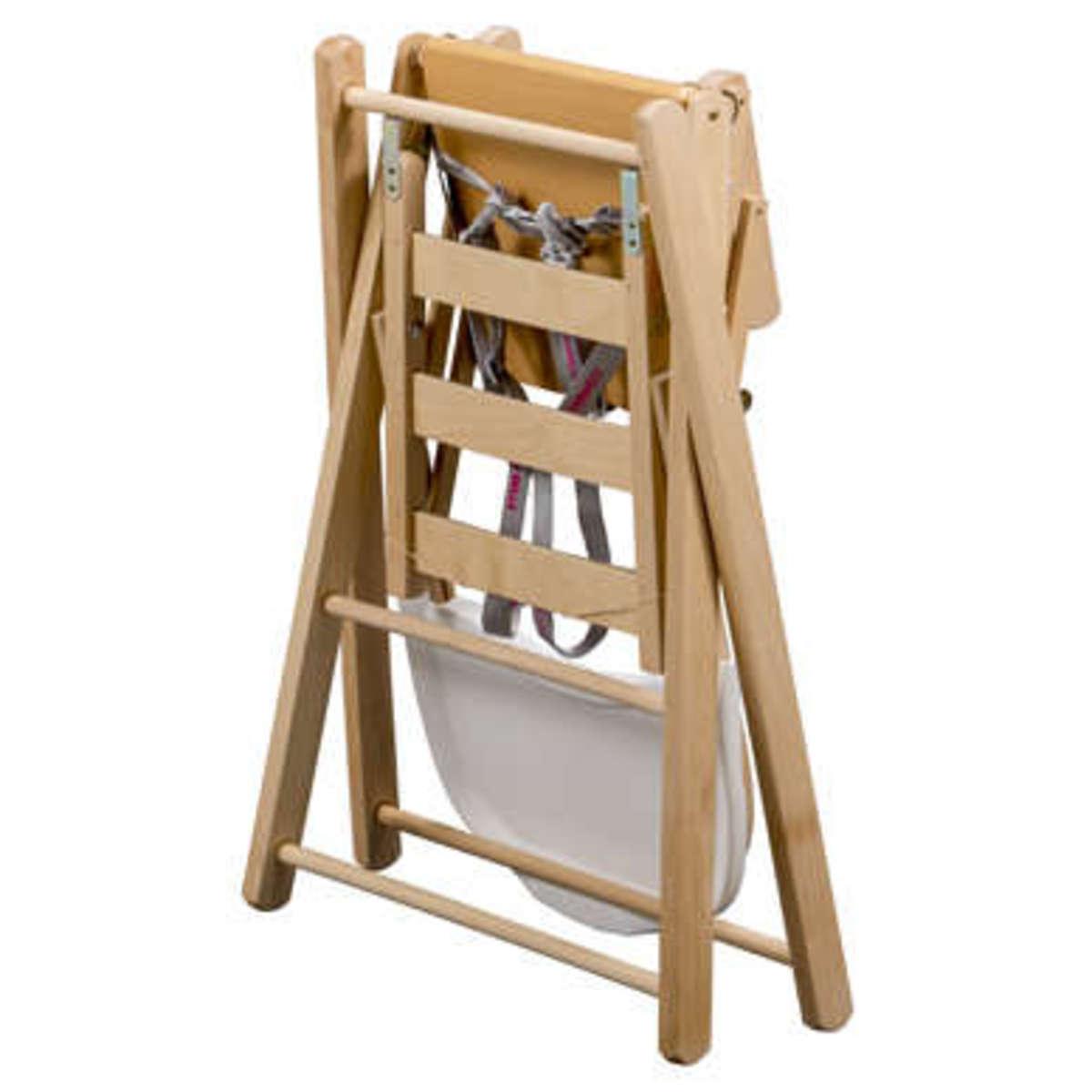 combelle chaise haute extra pliante sarah chaise haute. Black Bedroom Furniture Sets. Home Design Ideas