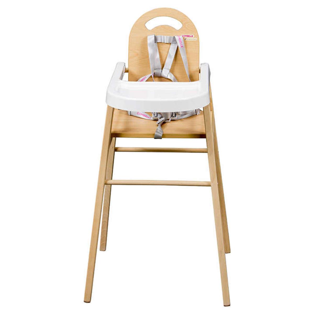 Combelle chaise haute fixe lili naturel chaise haute combelle sur l 39 armoire de b b - Chaise haute lili combelle ...