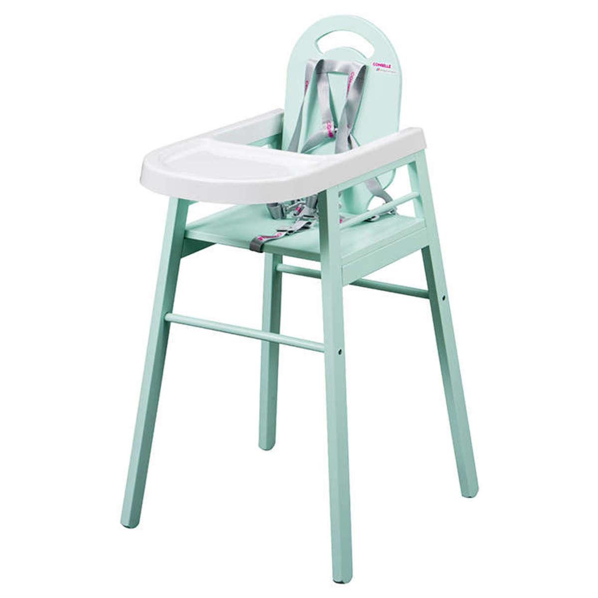 Chaise haute Chaise Haute Fixe Lili - Vert Mint Chaise Haute Fixe Lili - Vert Mint
