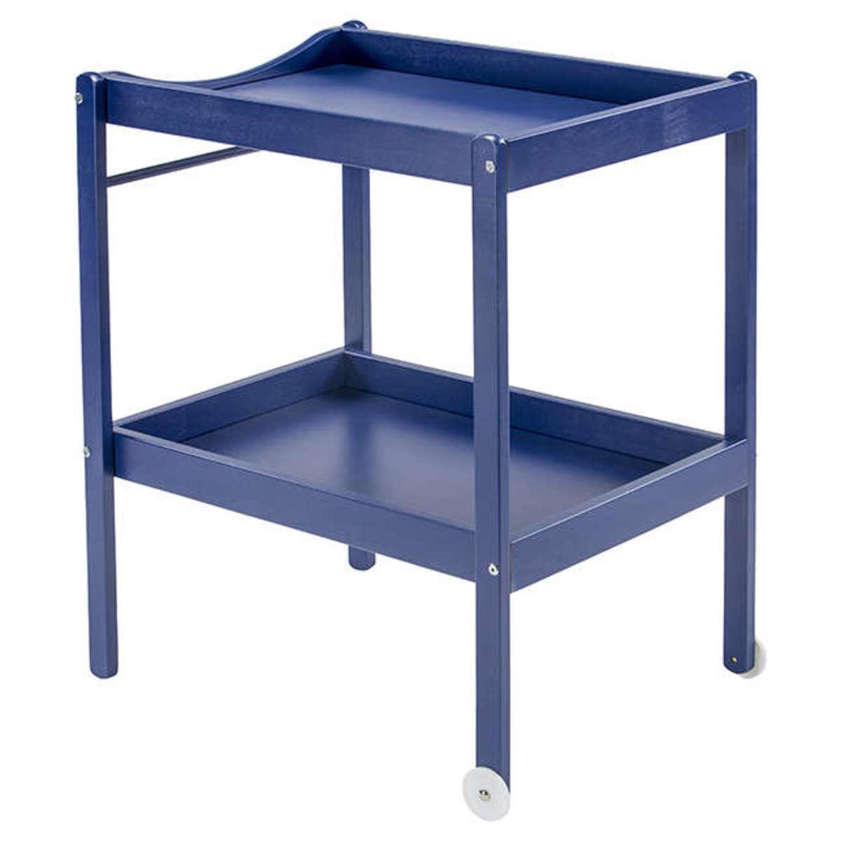 combelle table langer 2 plateaux alice bleu laqu. Black Bedroom Furniture Sets. Home Design Ideas