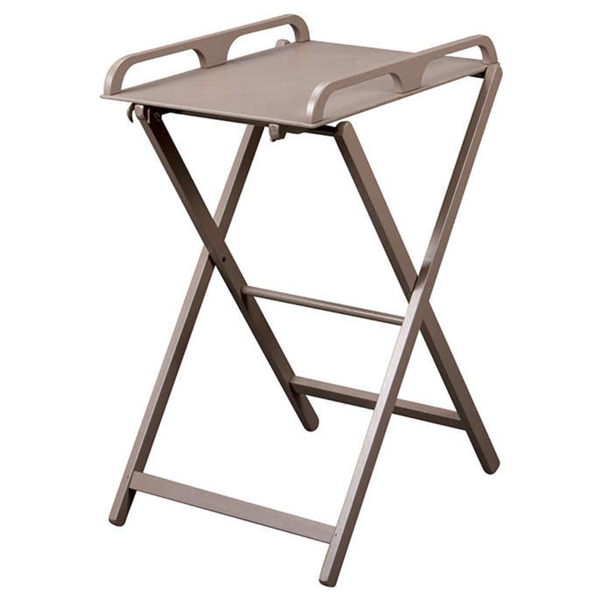 combelle table langer pliante jade laqu taupe table. Black Bedroom Furniture Sets. Home Design Ideas
