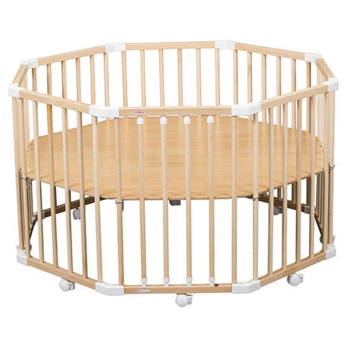 combelle parc b b florian pliable et r glable blanc parc b b combelle sur l 39 armoire de b b. Black Bedroom Furniture Sets. Home Design Ideas