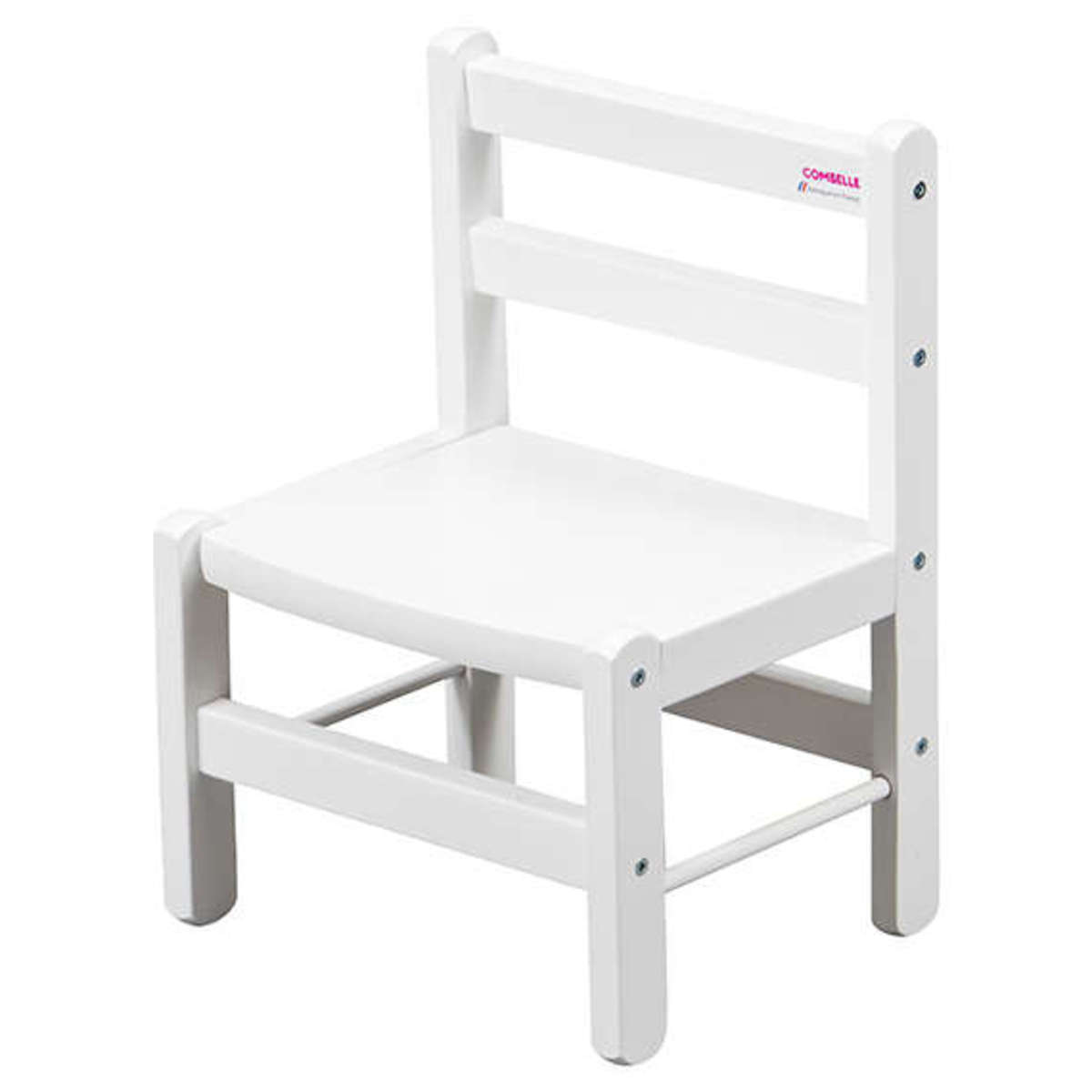 chaise enfant laqu blanc 921c achat vente table. Black Bedroom Furniture Sets. Home Design Ideas