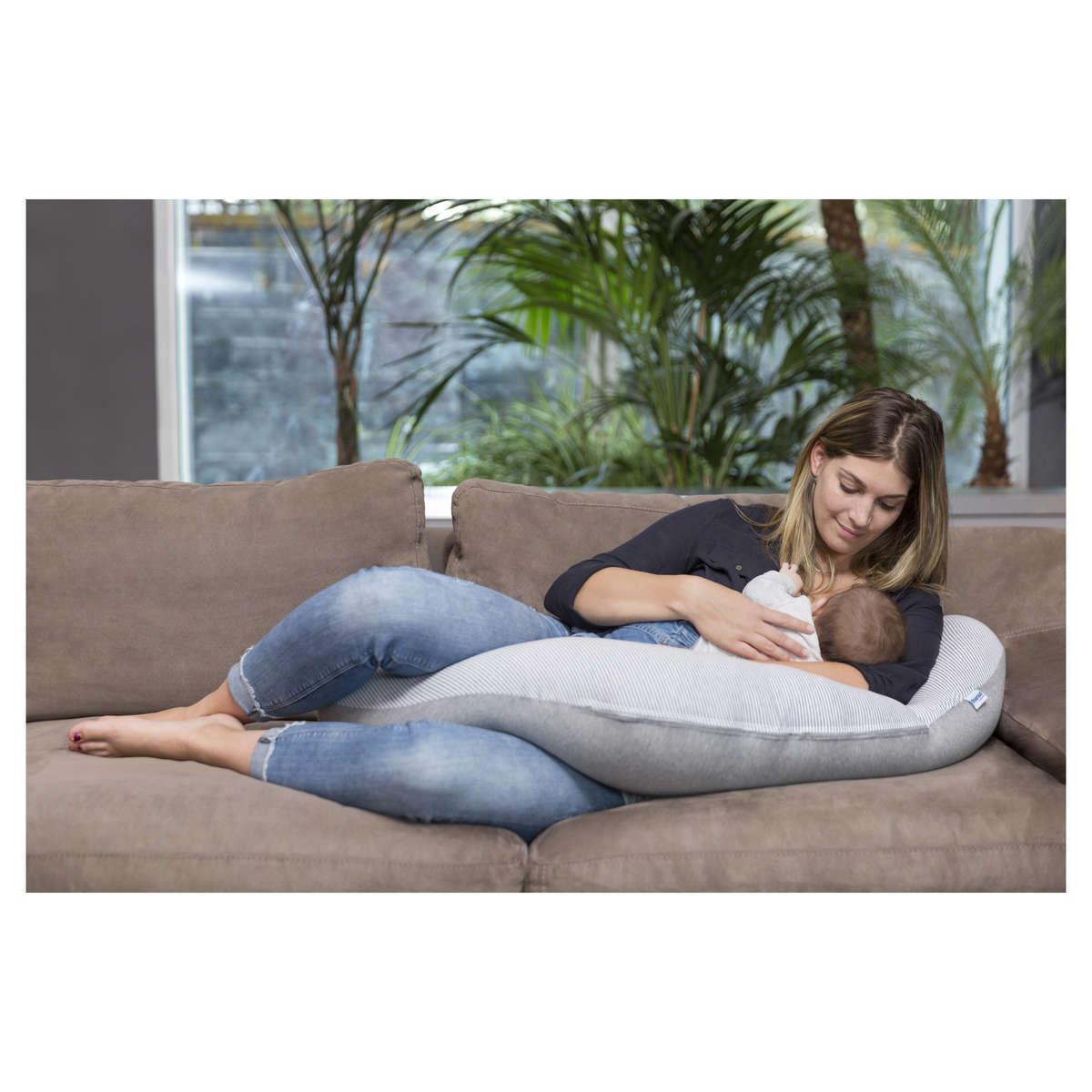 babymoov coussin de maternit doomoo classic grey coussin allaitement babymoov sur l 39 armoire. Black Bedroom Furniture Sets. Home Design Ideas