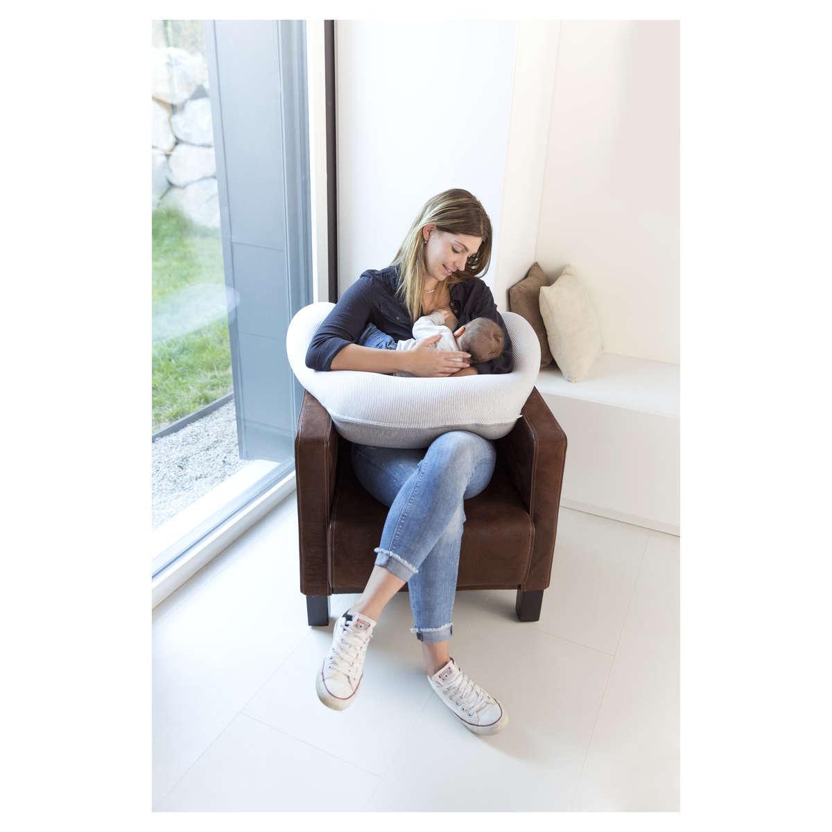 babymoov coussin de maternit doomoo classic grey. Black Bedroom Furniture Sets. Home Design Ideas