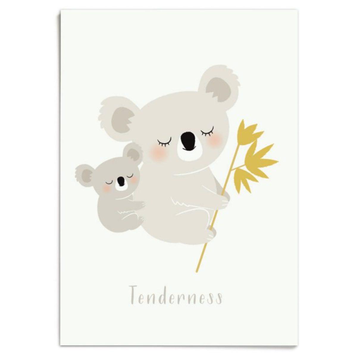 Affiche & poster Affiche Koalas Affiche Koalas