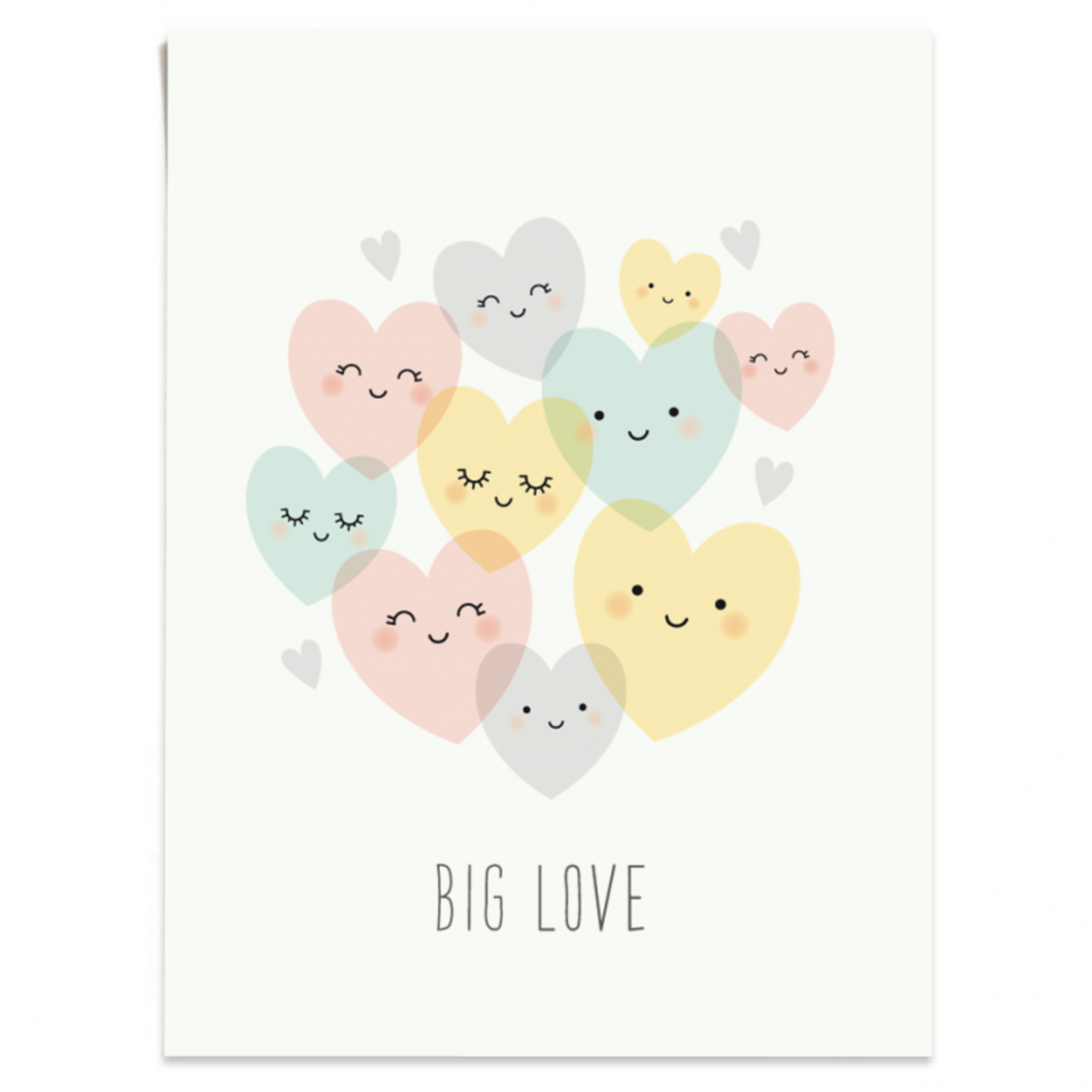 Affiche & poster Affiche Big Love Affiche Big Love