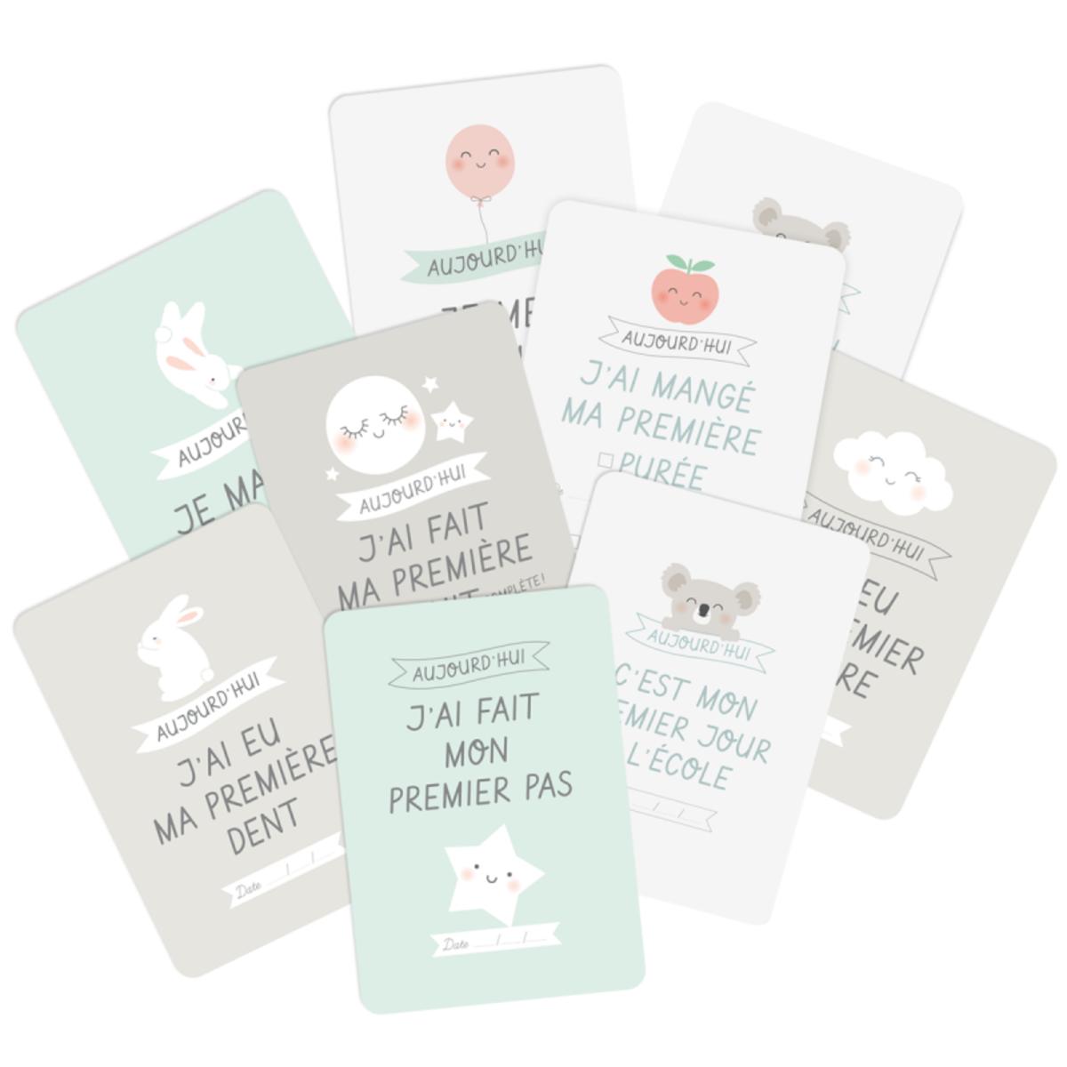 Livre & Carte Kit Cartes Premières Fois Kit Cartes Premières Fois