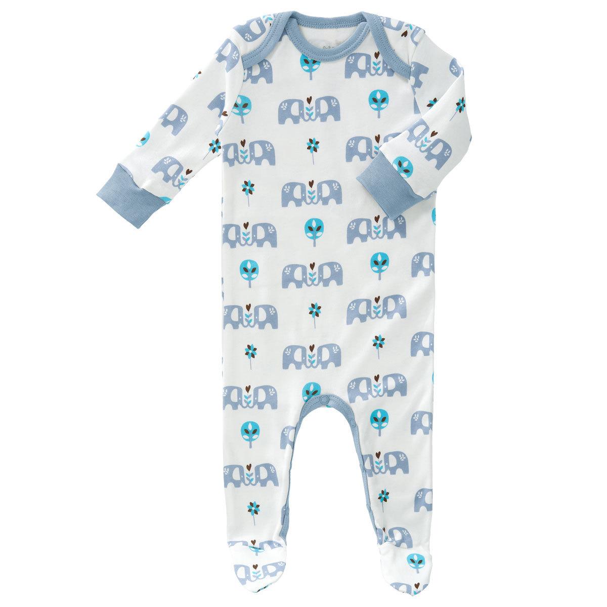 Pyjama avec pied el phant bleu 6 12 mois ff138 12 - Pyjama elephant ...