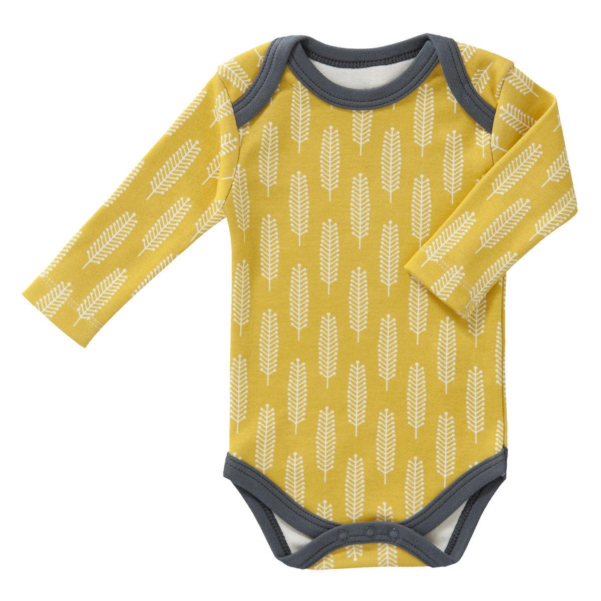 ca64d17a8890a Body   Pyjama Body Manche Longue Plume - Vintage Yellow - 0   3 mois Body