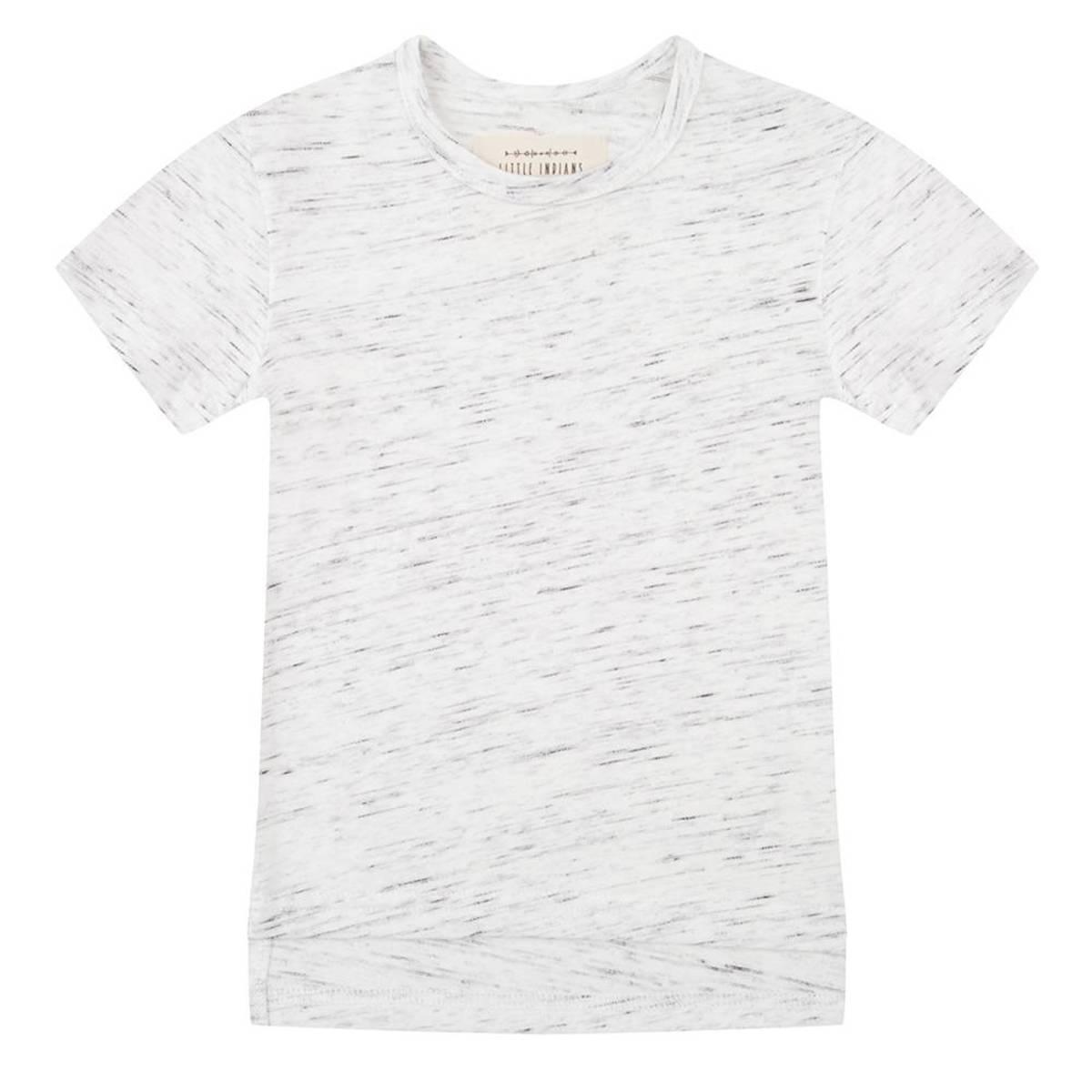 Hauts bébé Tee-Shirt manches courtes Marmer Gris - 6/9 mois Tee-Shirt manches courtes Marmer Gris - 6/9 mois