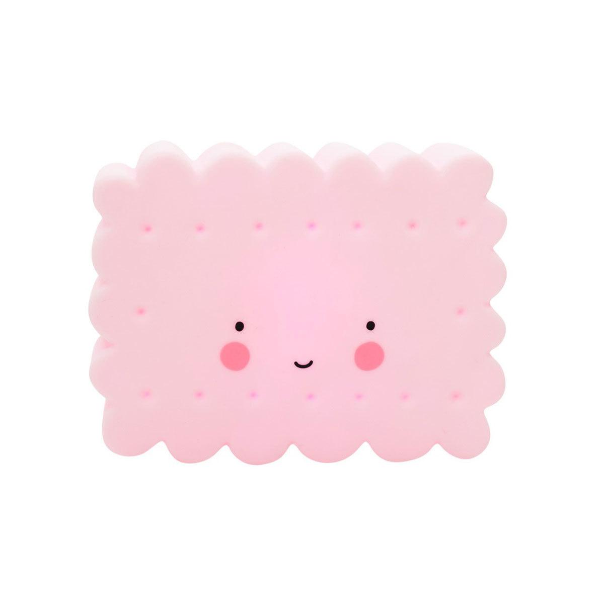 Veilleuse Mini Veilleuse LED Cookie - Rose Mini Veilleuse LED Cookie - Rose