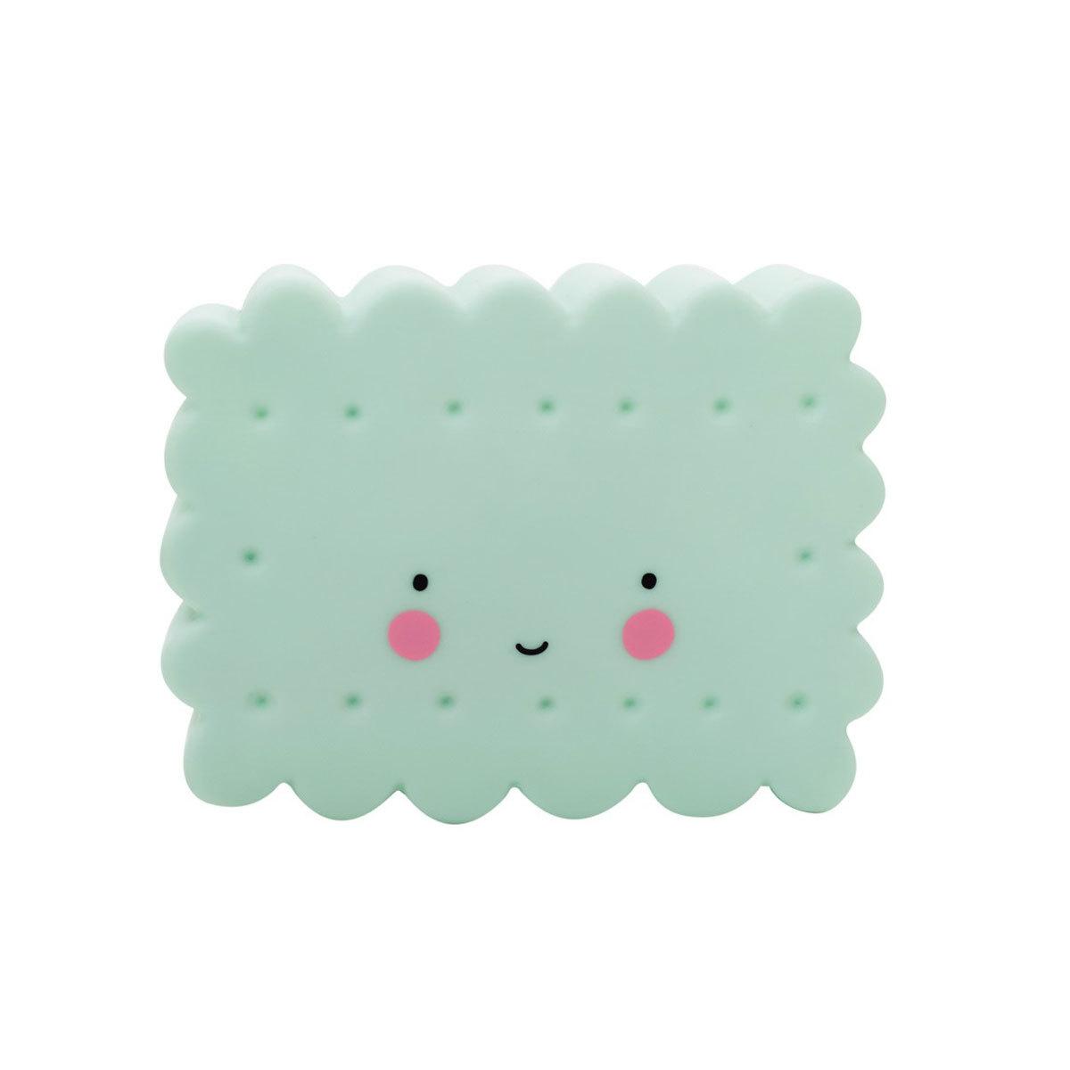 Veilleuse Mini Veilleuse LED Cookie - Menthe Mini Veilleuse LED Cookie - Menthe