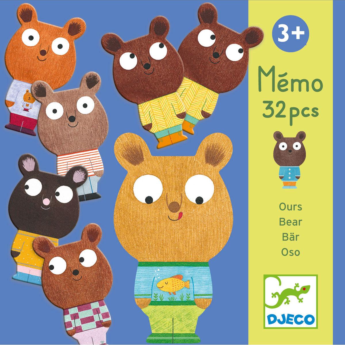 Mes premiers jouets Mémo Ours Mémo Ours