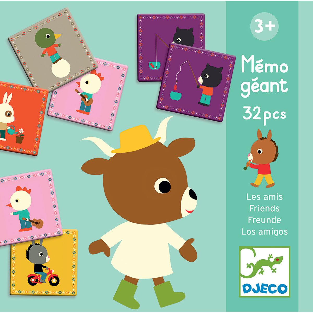 Mes premiers jouets Mémo Géant - Les Amis Mémo Géant - Les Amis