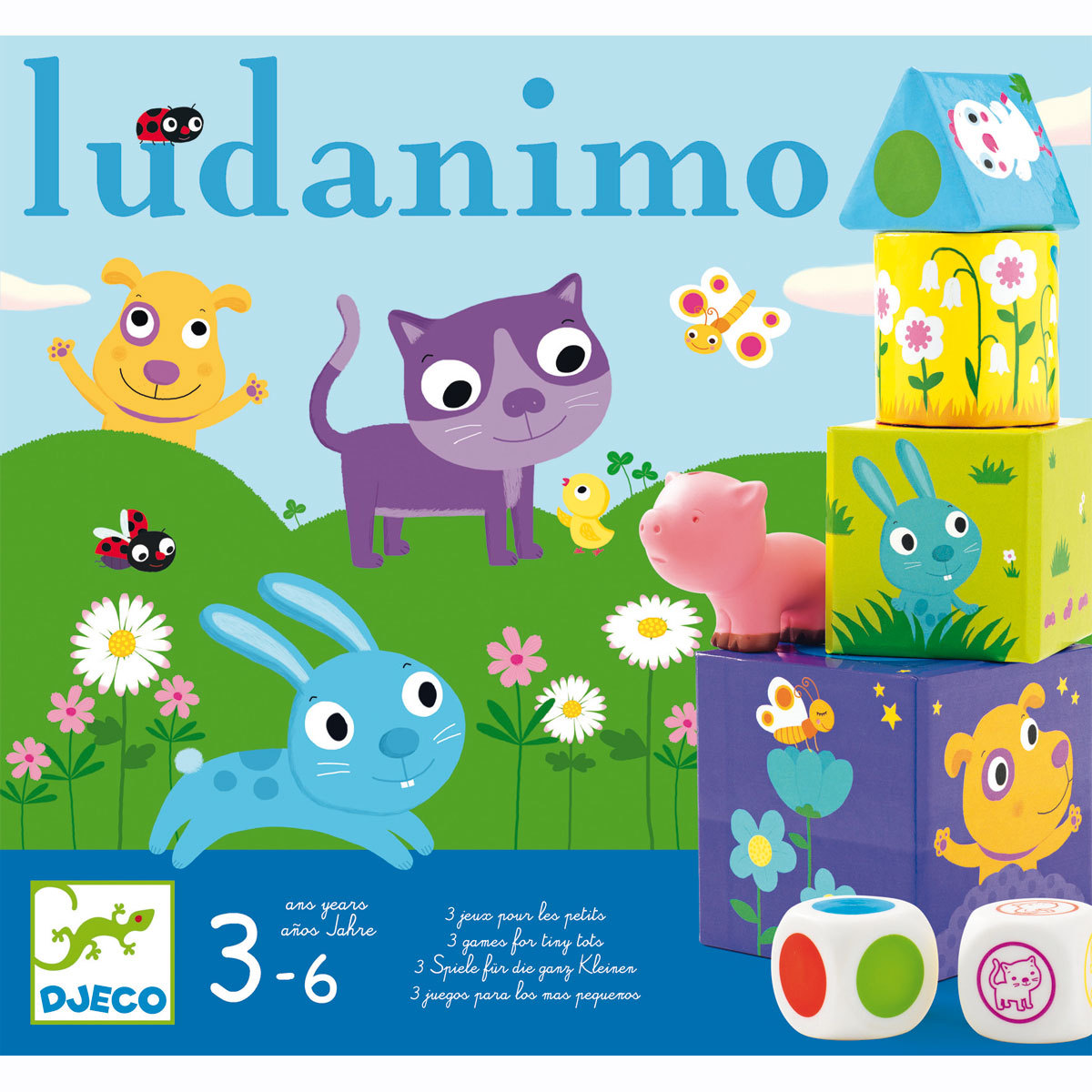Mes premiers jouets Ludanimo Ludanimo