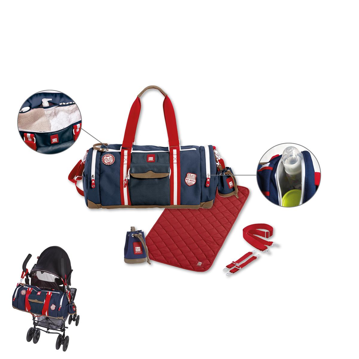 red castle sac langer bowling bleu sac langer red. Black Bedroom Furniture Sets. Home Design Ideas