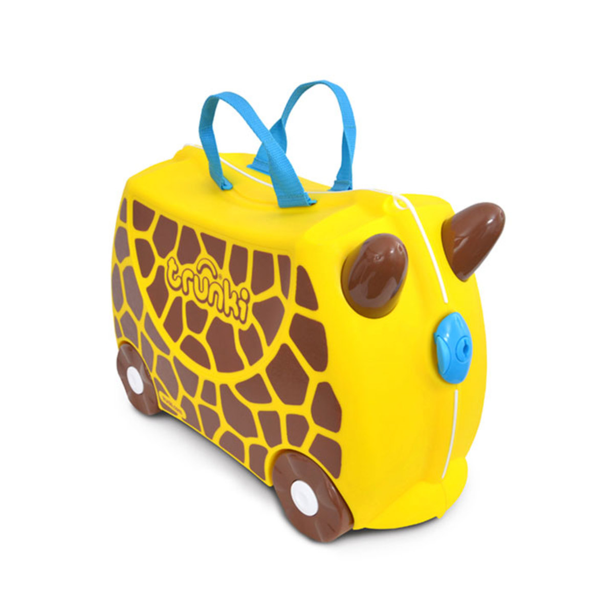 trunki valise ride on girafe gerry bagagerie enfant trunki sur l 39 armoire de b b. Black Bedroom Furniture Sets. Home Design Ideas