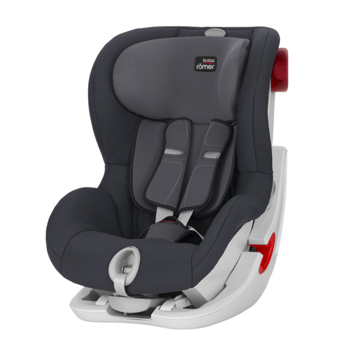 britax r mer si ge auto groupe 1 king ii ls storm grey si ge auto et coque britax r mer sur. Black Bedroom Furniture Sets. Home Design Ideas