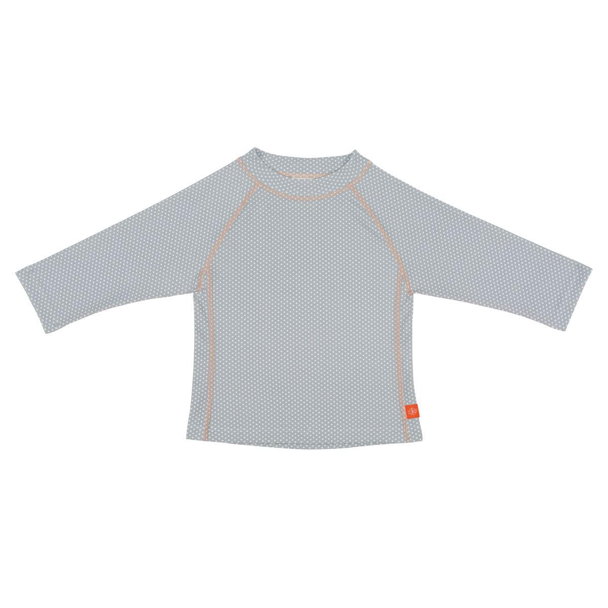 Accessoires Bébé T-Shirt Anti-UV Manches Longues - Polka Gris - 6 mois T-Shirt Anti-UV Manches Longues - Polka Gris - 6 mois