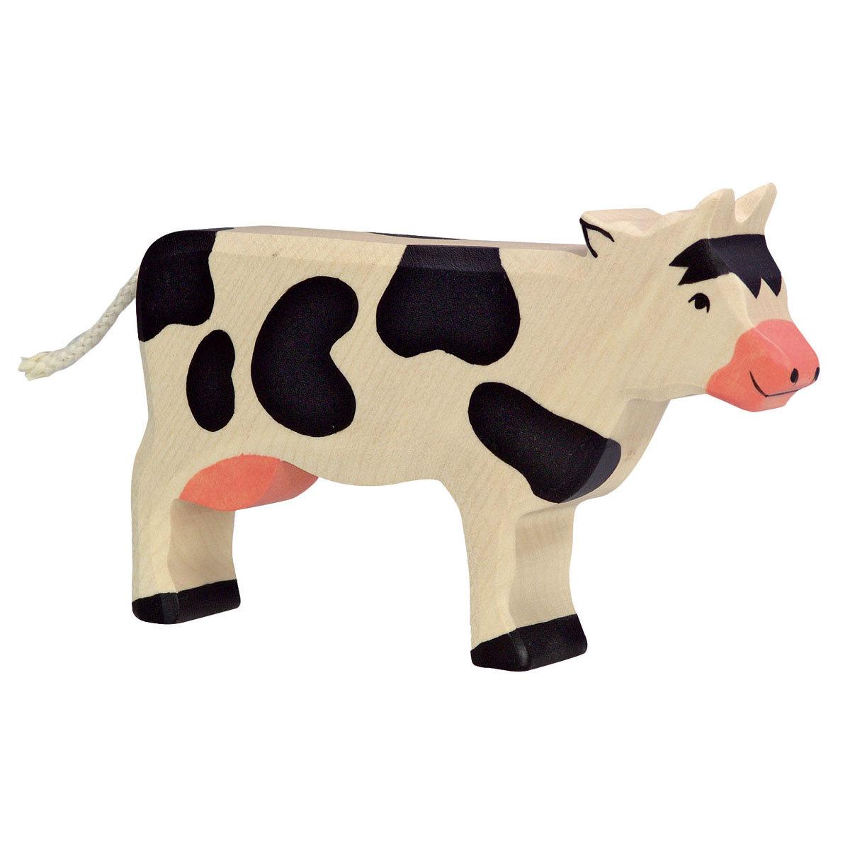 Mes premiers jouets Vache en Bois Vache en Bois