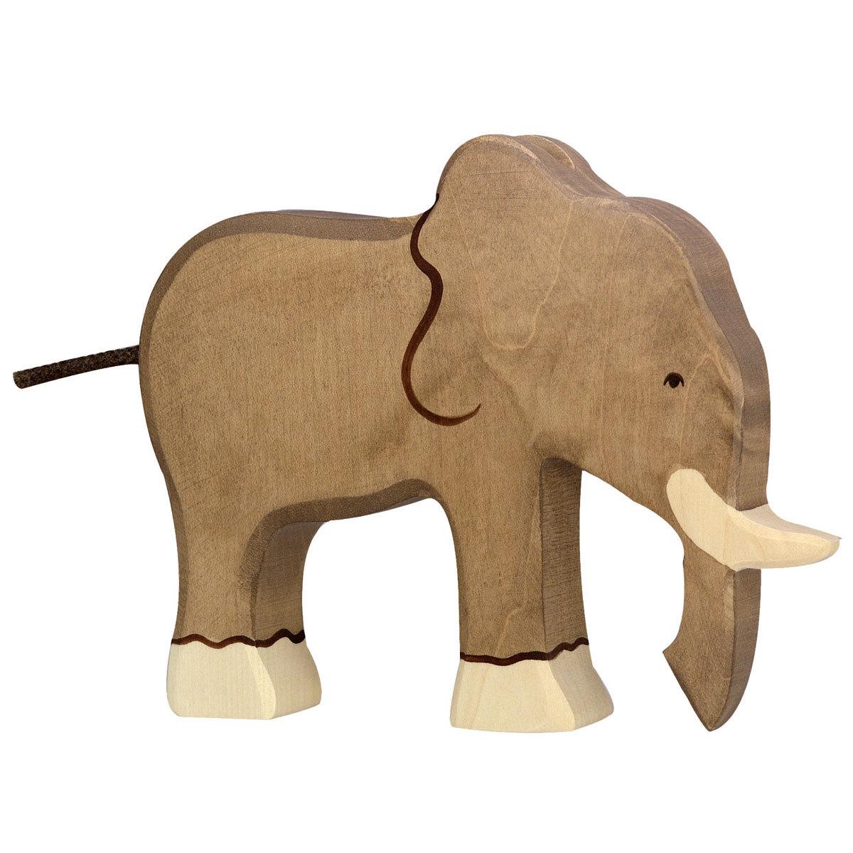 Mes premiers jouets Éléphant en Bois Éléphant en Bois