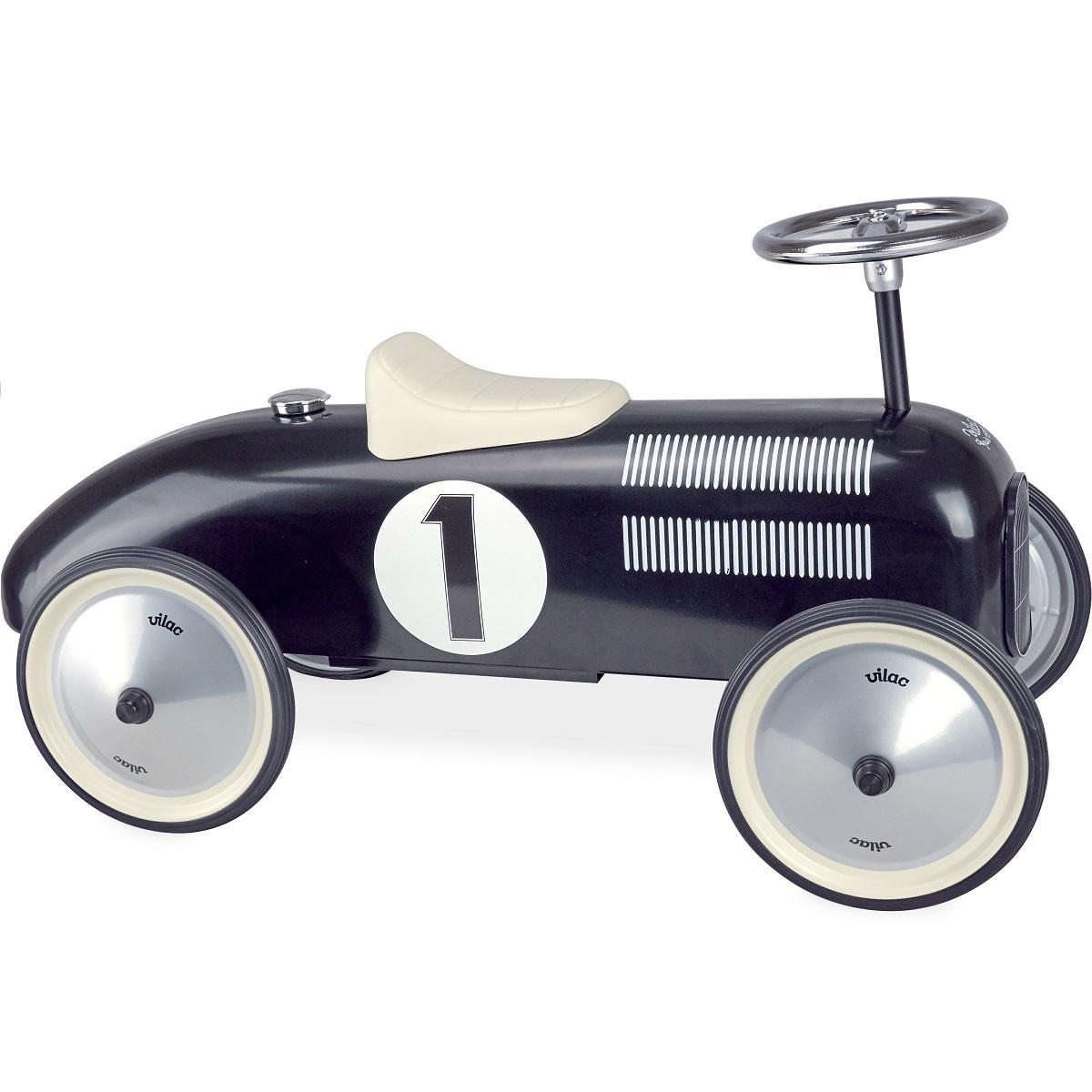 vilac porteur voiture vintage noir trotteur porteur vilac sur l 39 armoire de b b. Black Bedroom Furniture Sets. Home Design Ideas