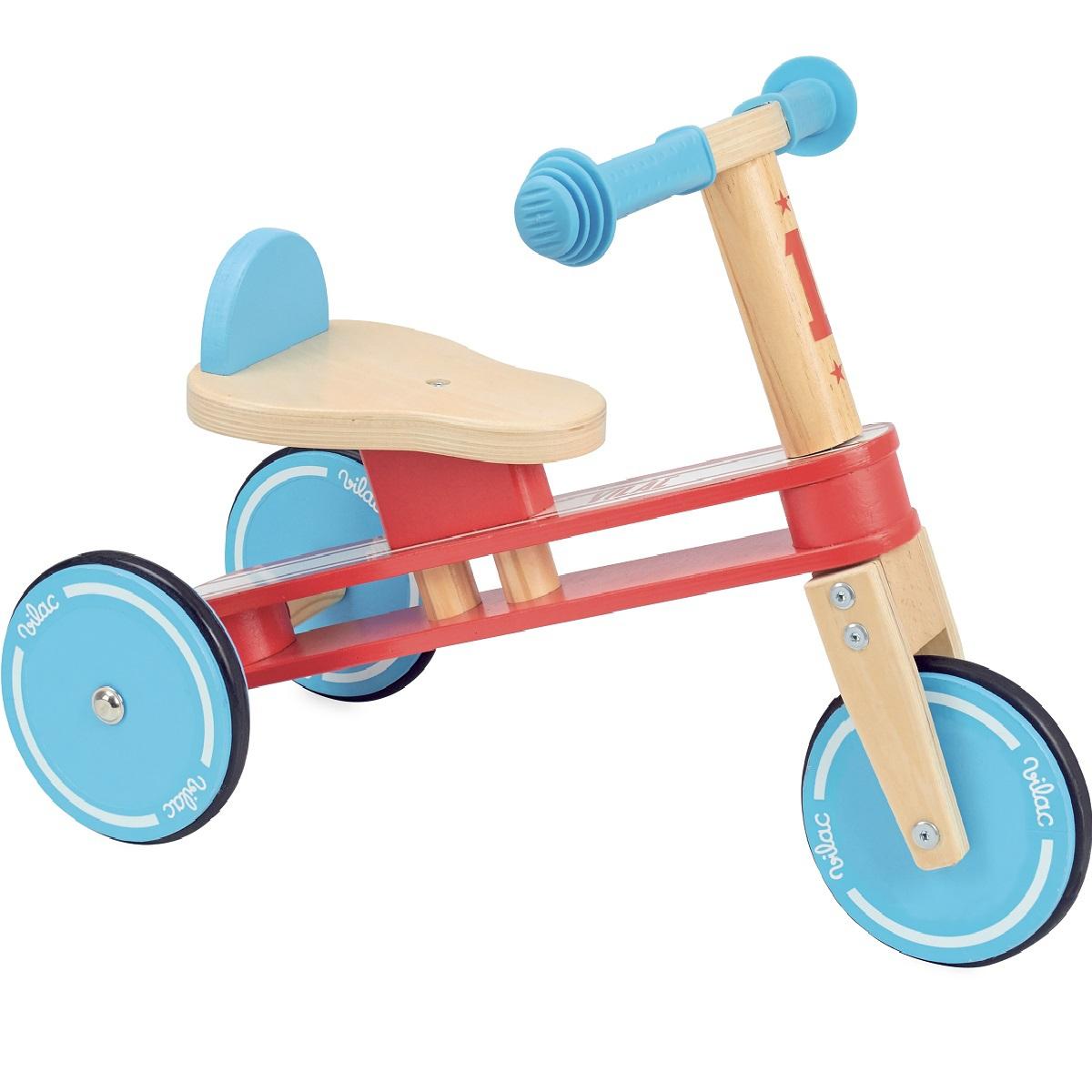 vilac tricyclette en bois trotteur porteur vilac sur l 39 armoire de b b. Black Bedroom Furniture Sets. Home Design Ideas