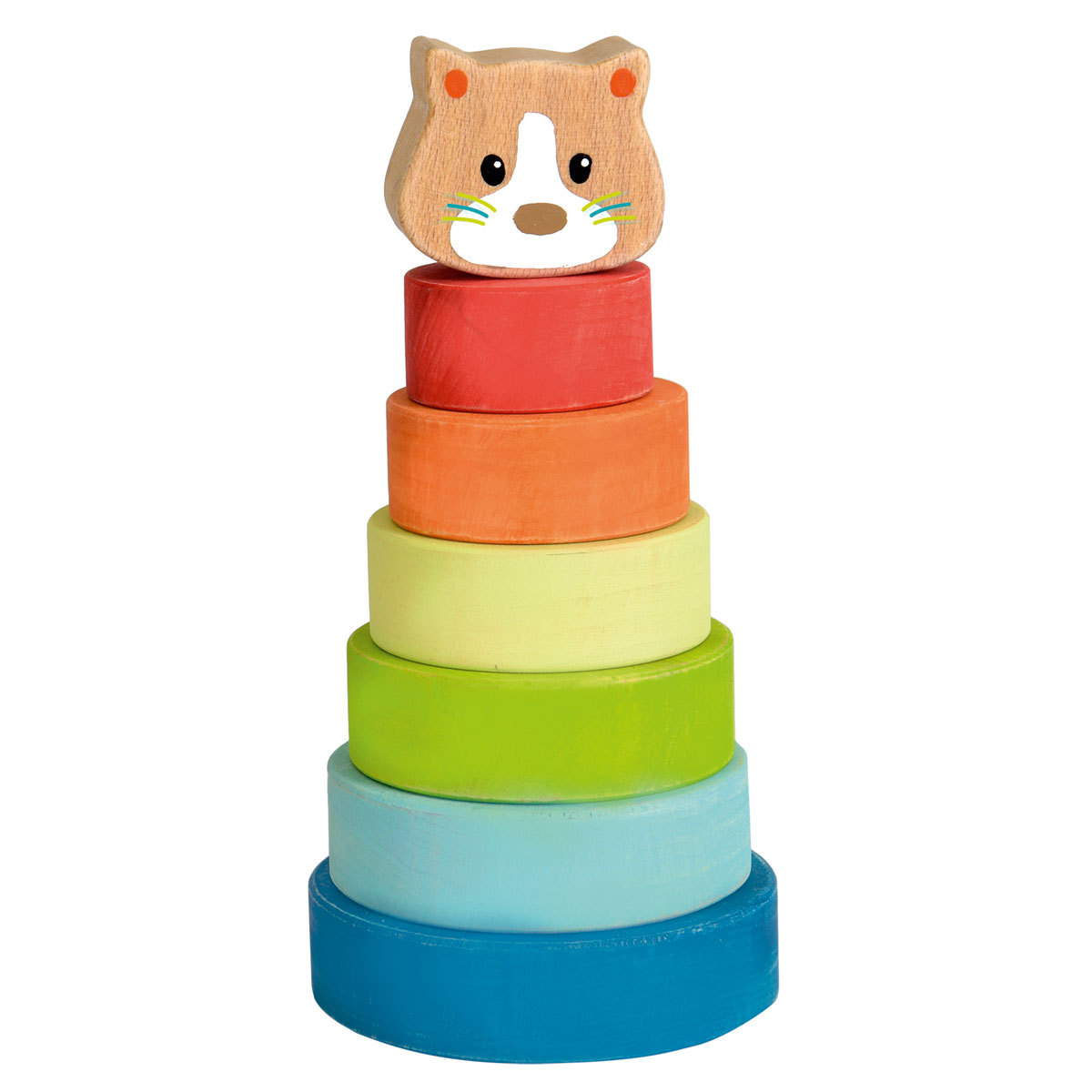 Mes premiers jouets Pyramide Chat