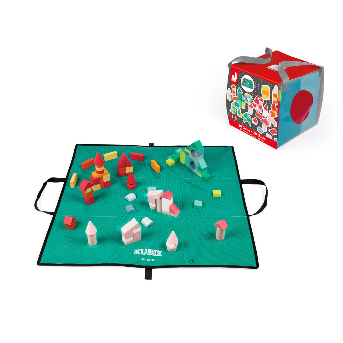 Mes premiers jouets Kubix - 80 Cubes Kubix - 80 Cubes