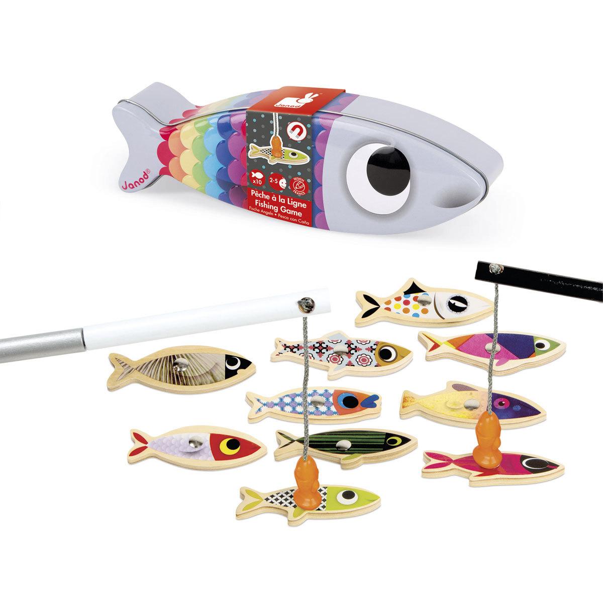 Mes premiers jouets Pêche à la Ligne - Sardine Pêche à la Ligne - Sardine