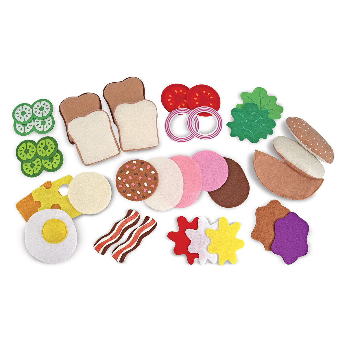 Mes premiers jouets Sandwichs en feutre Sandwichs en feutre