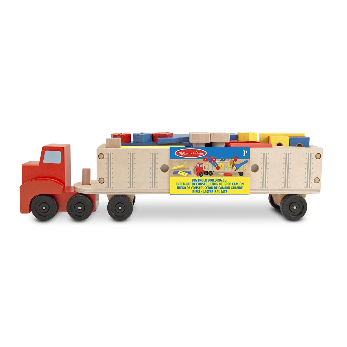 Mes premiers jouets Gros Camion en Bois Gros Camion en Bois