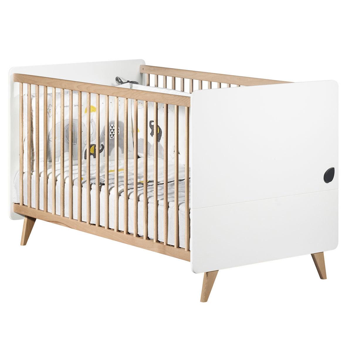 sauthon lit big bed oslo 140 x 70 cm lit b b sauthon. Black Bedroom Furniture Sets. Home Design Ideas