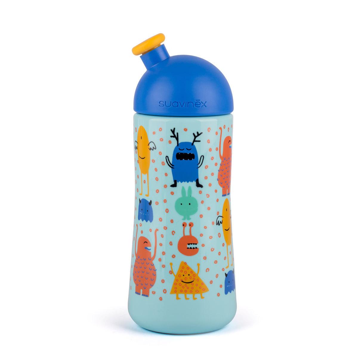 Biberon Bouteille Sport -270 ml Anti-fuites - +18 Mois - Bleu Bouteille Sport -270 ml Anti-fuites - +18 Mois - Bleu