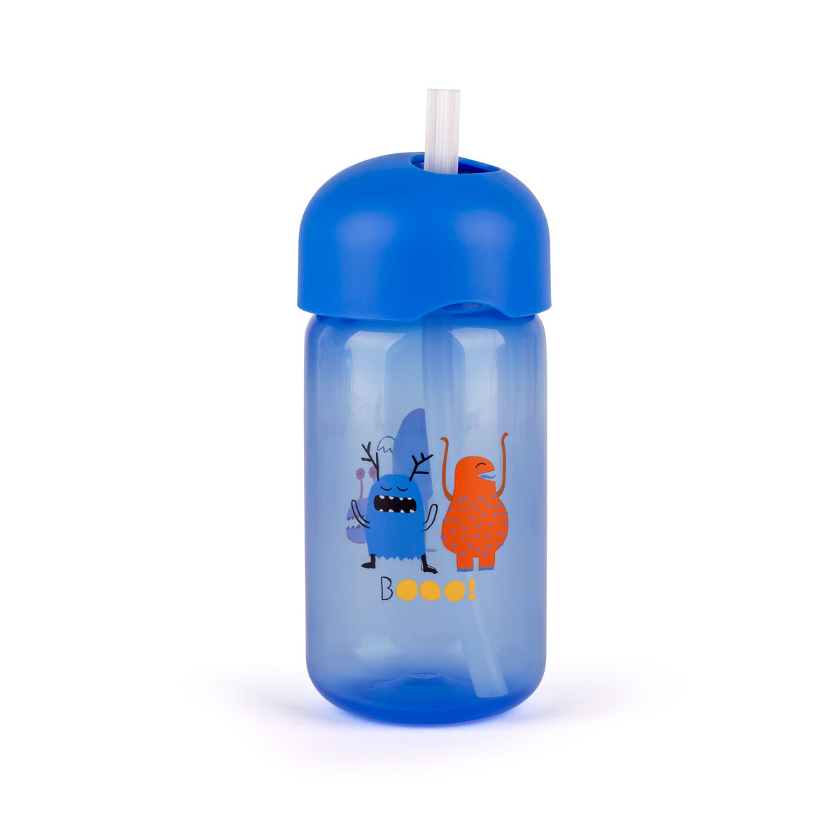 Tasse & Verre Tasse d'apprentissage avec Paille Boo - Bleu Tasse d'apprentissage avec Paille Boo - Bleu